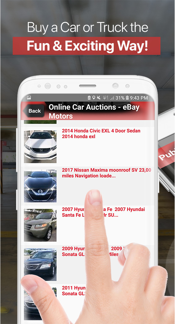 Public Auto Auctions App 2 0 Newest Version For Finding Cheap Used Cars At Auctions Public Auto Auctions
