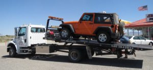 tow auction - jeep wrangler